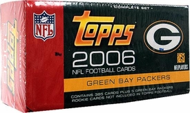 2006 Topps NFL Football Cards Factory Sealed Set Green Bay Packers