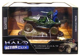 Halo ActionClix Trading Miniature Figure Game Battle Damaged Warthog