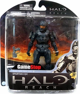 Halo Reach McFarlane Toys Series 2 Exclusive Action Figure STEEL Spartan CQC Custom {Male}