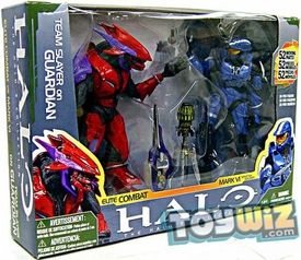 Halo McFarlane Toys Deluxe Action Figure Box Set Team Slayer on Guardian 2-Pack [Spartan Mark VI vs. Elite Combat]