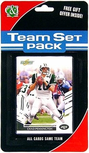 2007 Score Football Team Set Pack Jets