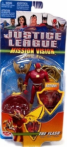 Justice League Deluxe Action Figure Mission Vision Flash [Gold Armor]