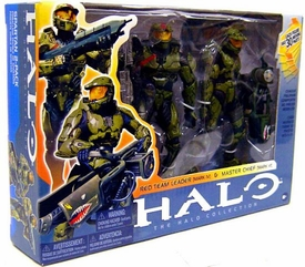 Halo McFarlane Toys Deluxe Action Figure Box Set Spartan 2-Pack [Red Team Leader {Mark IV} & Master Chief {Mark VI}] BLOWOUT SALE!