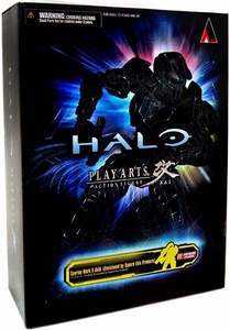 Halo Reach Square Enix Play Arts Kai Exclusive Action Figure Gold Spartan Mark V