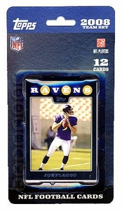 Topps NFL Football Cards 2008 Baltimore Ravens Team Set