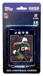Topps NFL Football Cards 2008 New York Jets Team Set