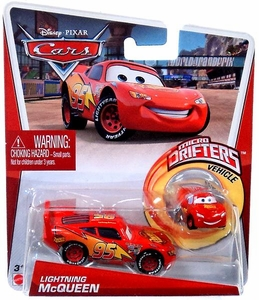 Disney / Pixar CARS Movie Micro Drifters & 1:55 Die Cast Car Lightning McQueen