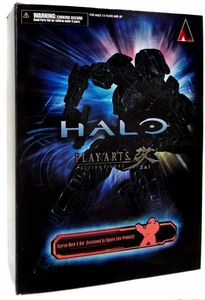 Halo Reach Square Enix Play Arts Kai Action Figure Red Spartan Mark V