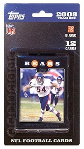 Topps NFL Football Cards 2008 Chicago Bears Team Set