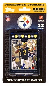 Topps NFL Football Cards 2008 Pittsburgh Steelers Team Set
