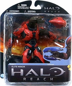 Halo Reach McFarlane Toys Series 2 Exclusive Action Figure RED Elite Minor