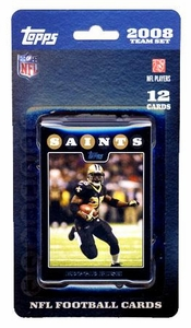Topps NFL Football Cards 2008 New Orleans Saints Team Set