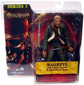 NECA Pirates of the Caribbean At World's End Series 1 Action Figure Ragetti