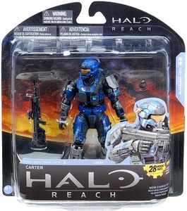 Halo Reach McFarlane Toys Series 2 Action Figure Carter [Noble 1] COLLECTOR'S CHOICE!