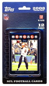Topps NFL Football Cards 2008 Cincinnati Bengals Team Set