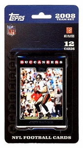Topps NFL Football Cards 2008 Tampa Bay Buccaneers Team Set