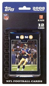 Topps NFL Football Cards 2008 St. Louis Rams Team Set