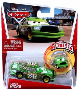Disney / Pixar CARS Movie Micro Drifters & 1:55 Die Cast Car Chick Hicks