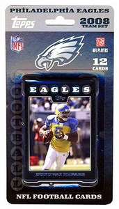 Topps NFL Football Cards 2008 Philadelphia Eagles Team Set