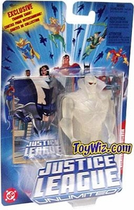 Justice League Unlimited Action Figure Invisible Martian Manhunter