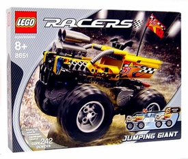 LEGO Racers Set #8651 Jumping Giant Monster Truck