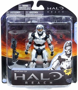 Halo Reach McFarlane Toys Series 2 Action Figure WHITE Spartan CQC Custom {Male}