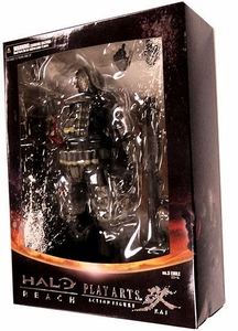 Halo Reach Square Enix Play Arts Kai Series 1 Action Figure Warrant Officer Emile