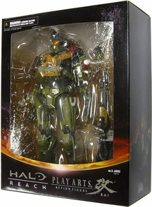 Halo Reach Square Enix Play Arts Kai Series 2 Action Figure Warrant Officer Jorge