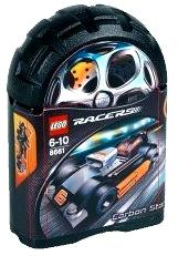 LEGO Racers Tiny Turbos Set #8661 Carbon Star