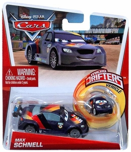 Disney / Pixar CARS Movie Micro Drifters & 1:55 Die Cast Car Max Schnell