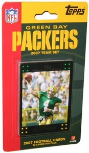 Topps NFL Football Cards 2007 Green Bay Packers Team Set