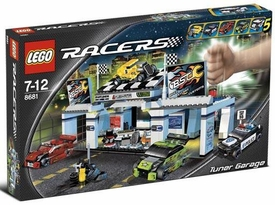 LEGO Racers Set #8681 Tuner Garage