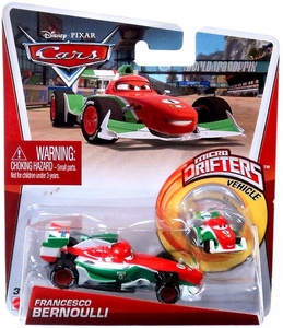 Disney / Pixar CARS Movie Micro Drifters & 1:55 Die Cast Car Francesco Bernoulli