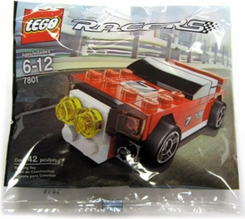 LEGO Racers Mini Figure Set #7801 Rally Racer [Bagged]