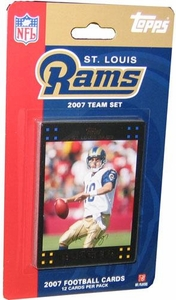 Topps NFL Football Cards 2007 St. Louis Rams Team Set