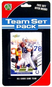 2007 Score Football Team Set Pack Colts
