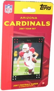 Topps NFL Football Cards 2007 Arizona Cardinals Team Set