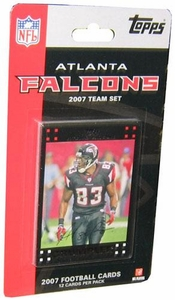 Topps NFL Football Cards 2007 Atlanta Falcons Team Set