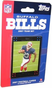 Topps NFL Football Cards 2007 Buffalo Bills Team Set