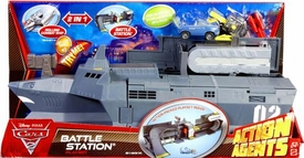 Disney / Pixar CARS 2 Movie Action Agents Playset Battle Station