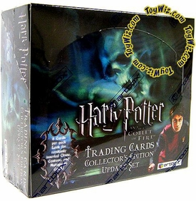 Harry Potter and the Goblet of Fire Movie Hobby Version Collector's UPDATE Edition Trading Card Box