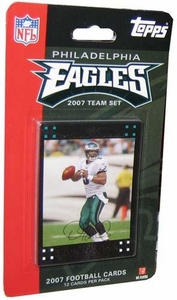 Topps NFL Football Cards 2007 Philadelphia Eagles Team Set
