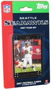 Topps NFL Football Cards 2007 Seattle Seahawks Team Set