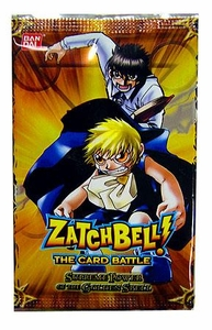 Zatch Bell Card Battle Game Series 2 Supreme Power of the Golden Spell Booster Pack