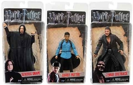 NECA Harry Potter Deathly Hallows Series 1 Set of 3 Action Figures [Harry, Severus Snape & Fenrir Greyback]