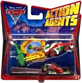 Disney / Pixar CARS 2 Movie Action Agents Francesco Bernoulli