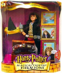 Harry Potter Action Figure Magical Talking Hermione Damaged Package, Mint Contents!
