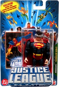 Justice League Unlimited Action Figure Cyber Defenders Superman