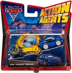 Disney / Pixar CARS 2 Movie Action Agents Rod