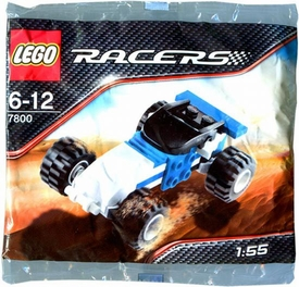 LEGO Racers Tiny Turbos Mini Figure Set #7800 Off Road Racer [Bagged]
